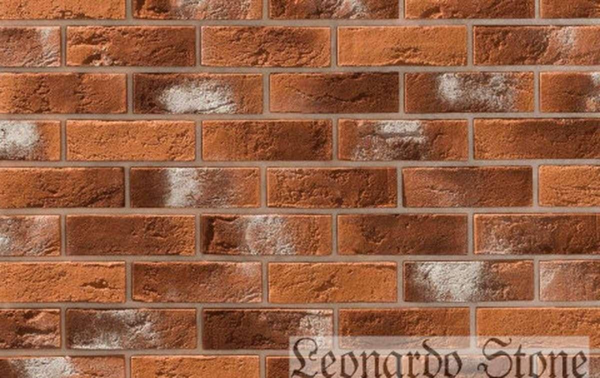 Фасадная плитка Leonardo Stone декоративный кирпич Бремен 490
