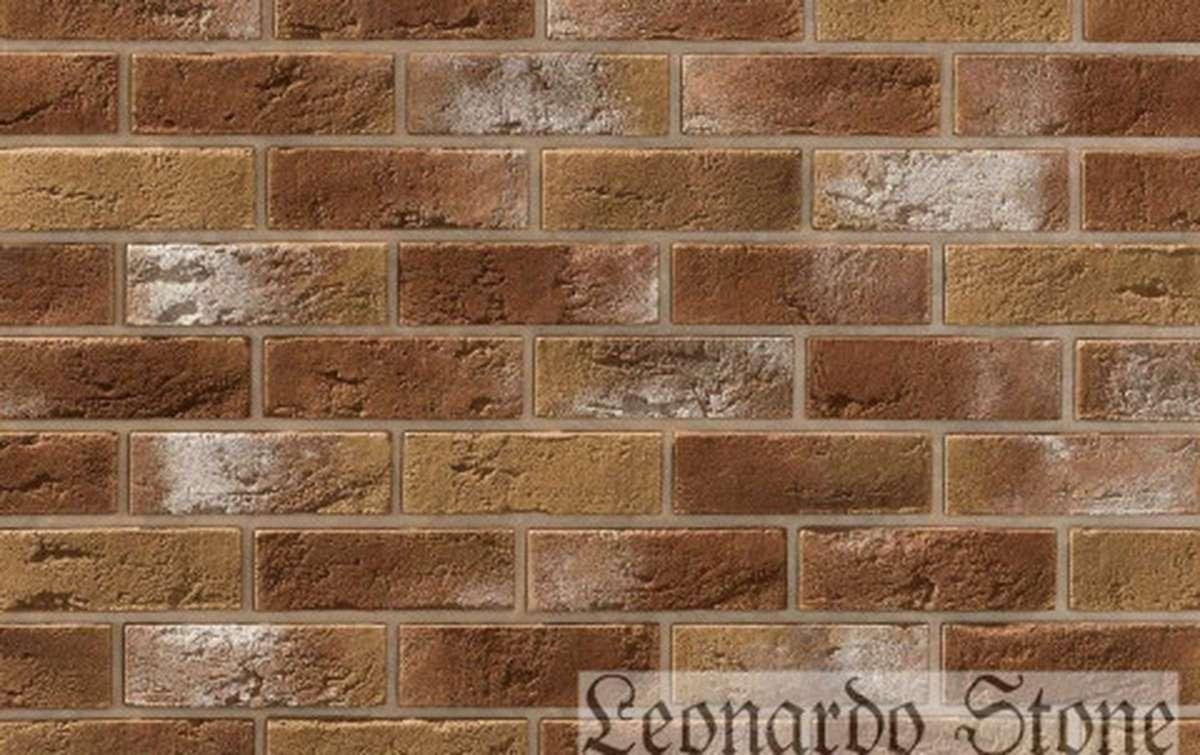 Фасадная плитка Leonardo Stone декоративный кирпич Бремен 777
