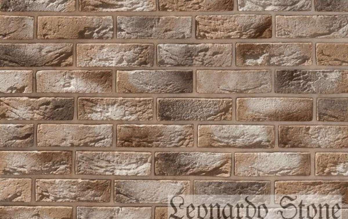 Фасадная плитка Leonardo Stone декоративный кирпич Авиньон 333