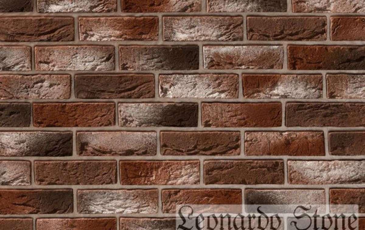 Фасадная плитка Leonardo Stone декоративный кирпич Авиньон 408