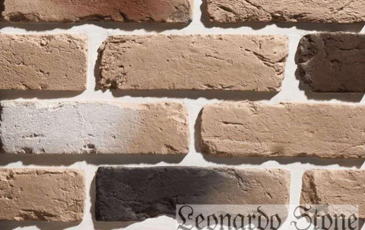 Фасадная плитка Leonardo Stone декоративный кирпич Орлеан 402