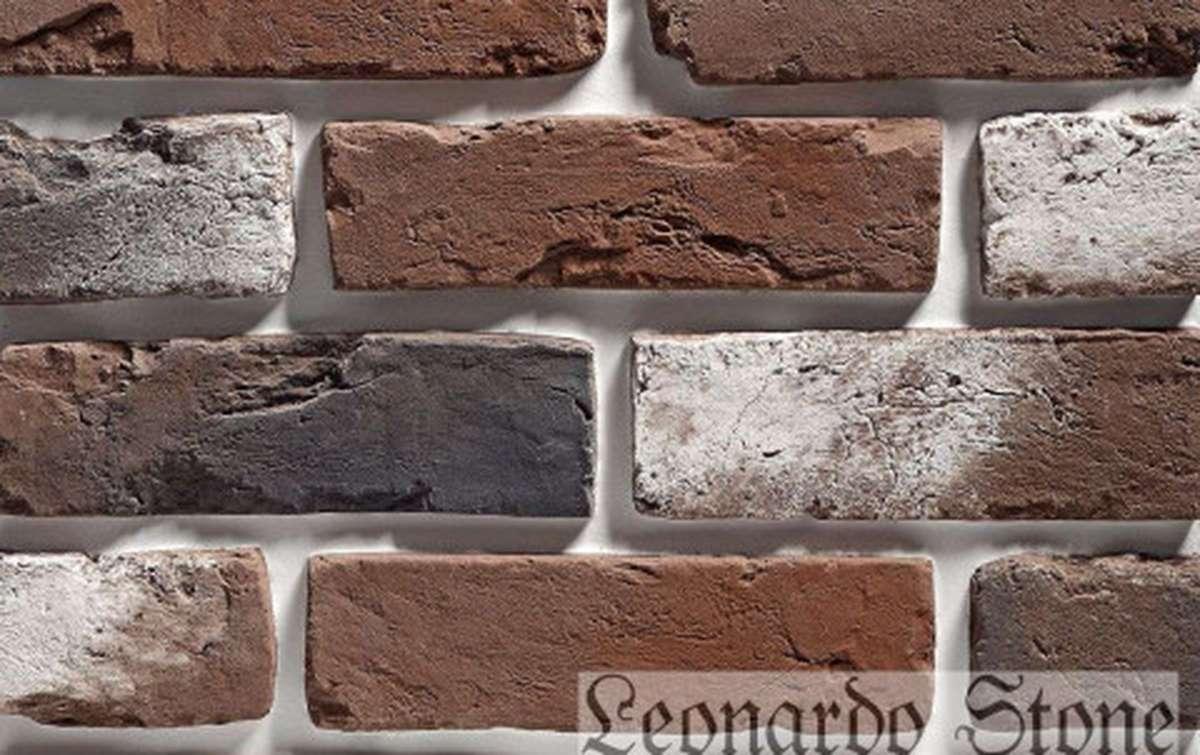 Фасадная плитка Leonardo Stone декоративный кирпич Орлеан 408