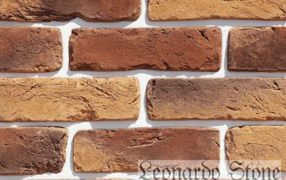 Фасадная плитка Leonardo Stone декоративный кирпич Орлеан 440