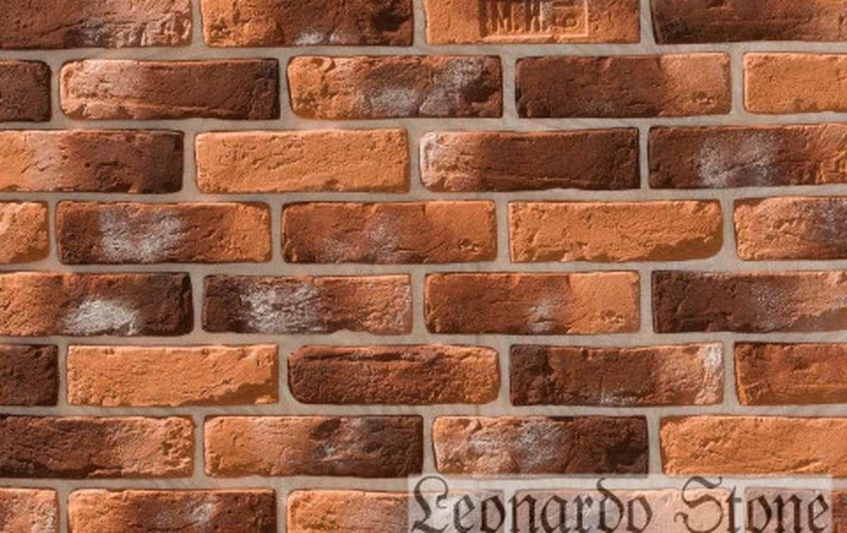Фасадная плитка Leonardo Stone декоративный кирпич Орлеан 490