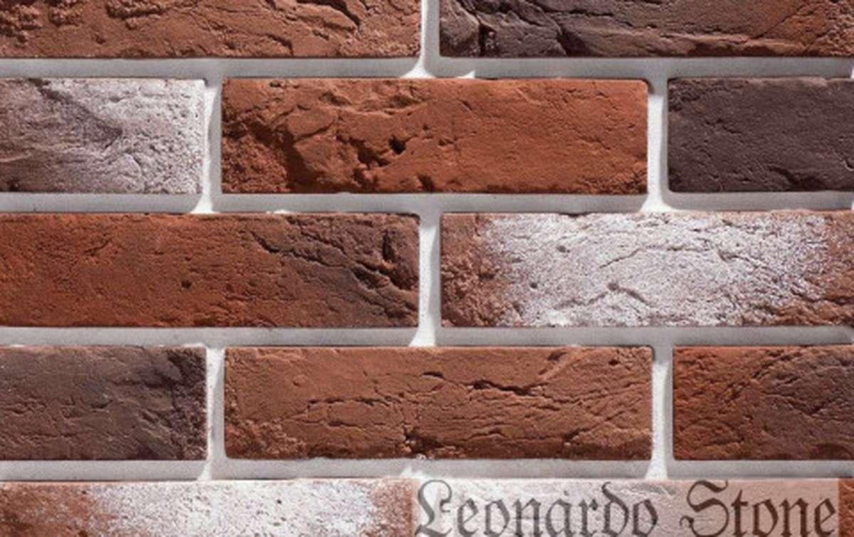 Фасадная плитка Leonardo Stone декоративный кирпич Прованс 408