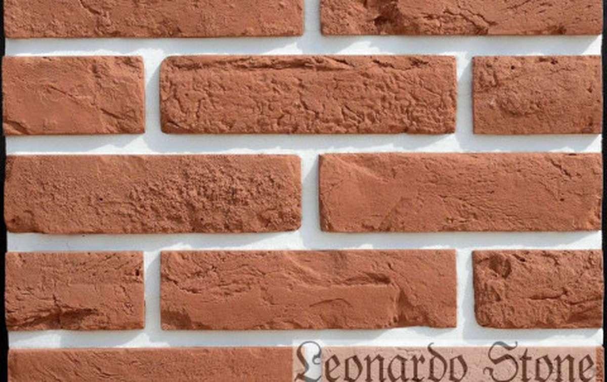 Фасадная плитка Leonardo Stone декоративный кирпич Прованс 420