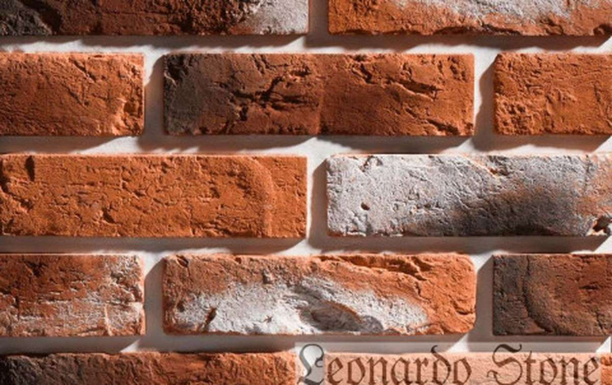 Фасадная плитка Leonardo Stone декоративный кирпич Прованс 490