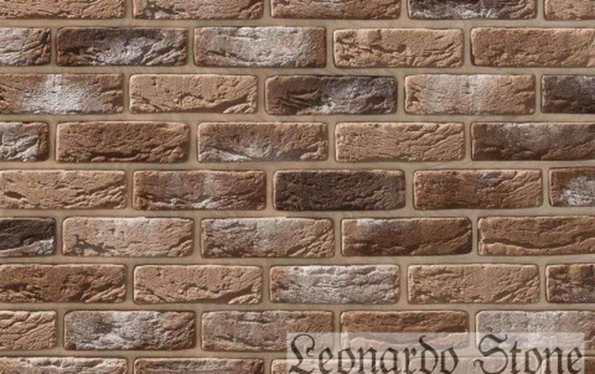 Фасадная плитка Leonardo Stone декоративный кирпич Руан 333