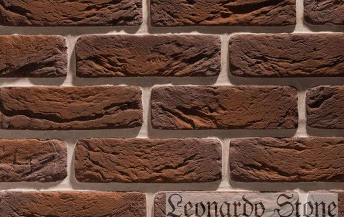 Фасадная плитка Leonardo Stone декоративный кирпич Руан 443