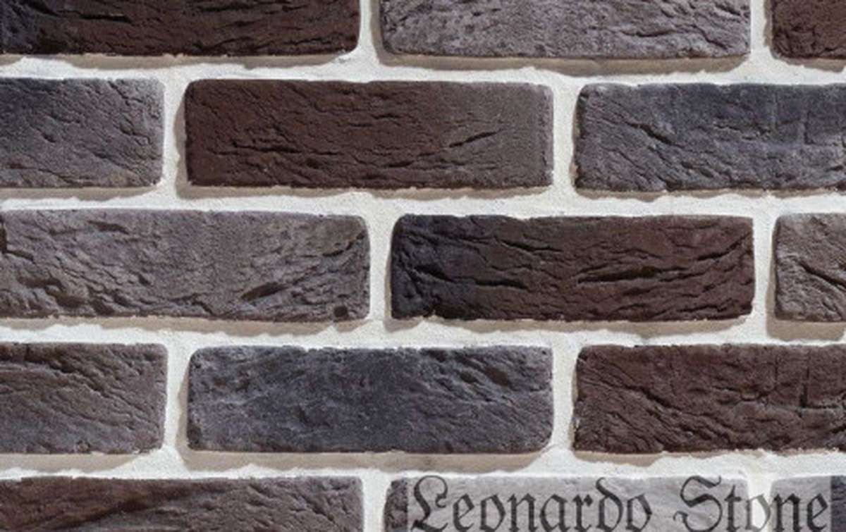 Фасадная плитка Leonardo Stone декоративный кирпич Руан 464