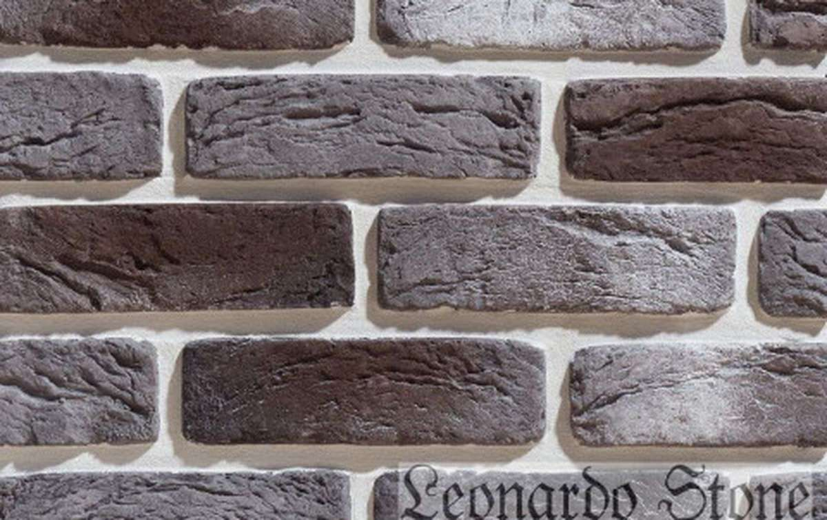 Фасадная плитка Leonardo Stone декоративный кирпич Руан 465