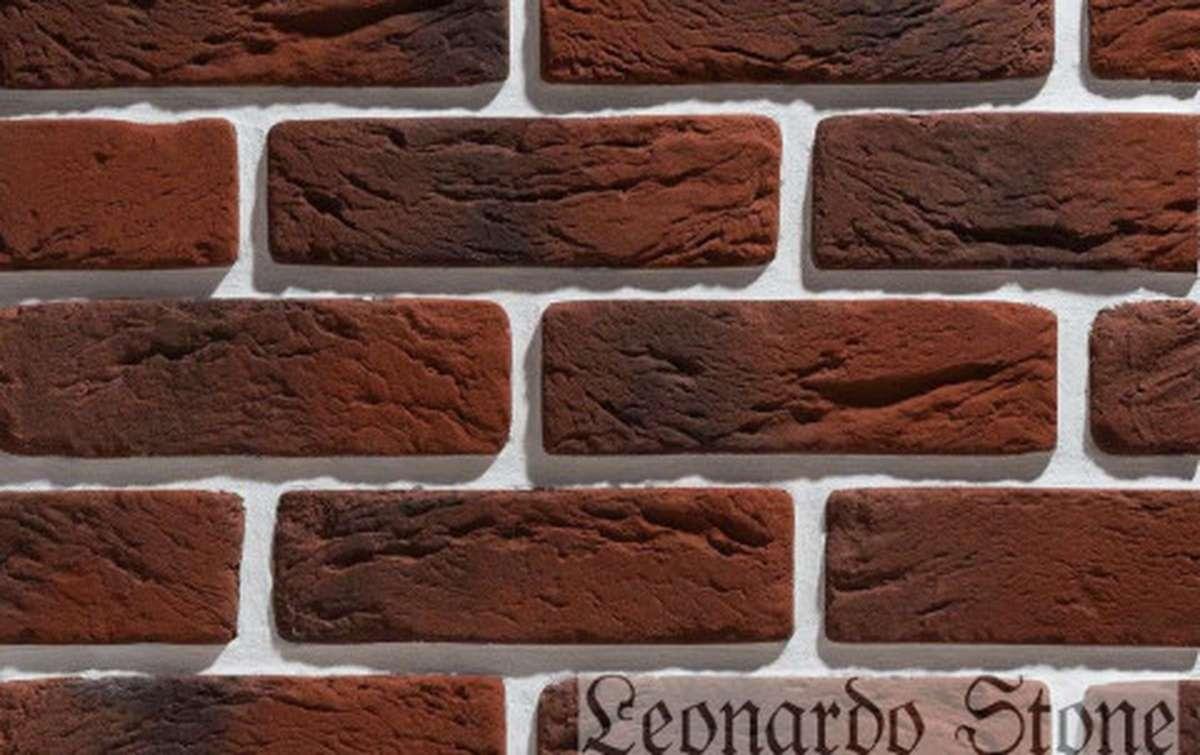 Фасадная плитка Leonardo Stone декоративный кирпич Руан 767