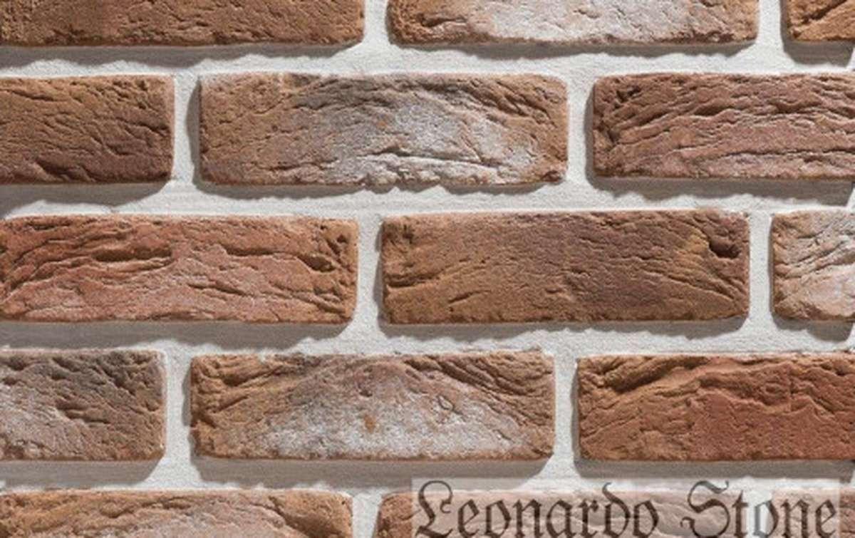 Фасадная плитка Leonardo Stone декоративный кирпич Руан 777