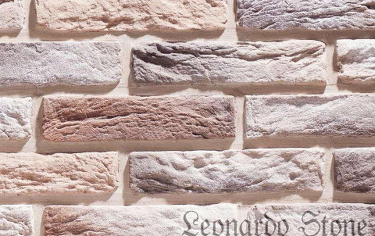 Фасадная плитка Leonardo Stone декоративный кирпич Иль-де-Франс 333