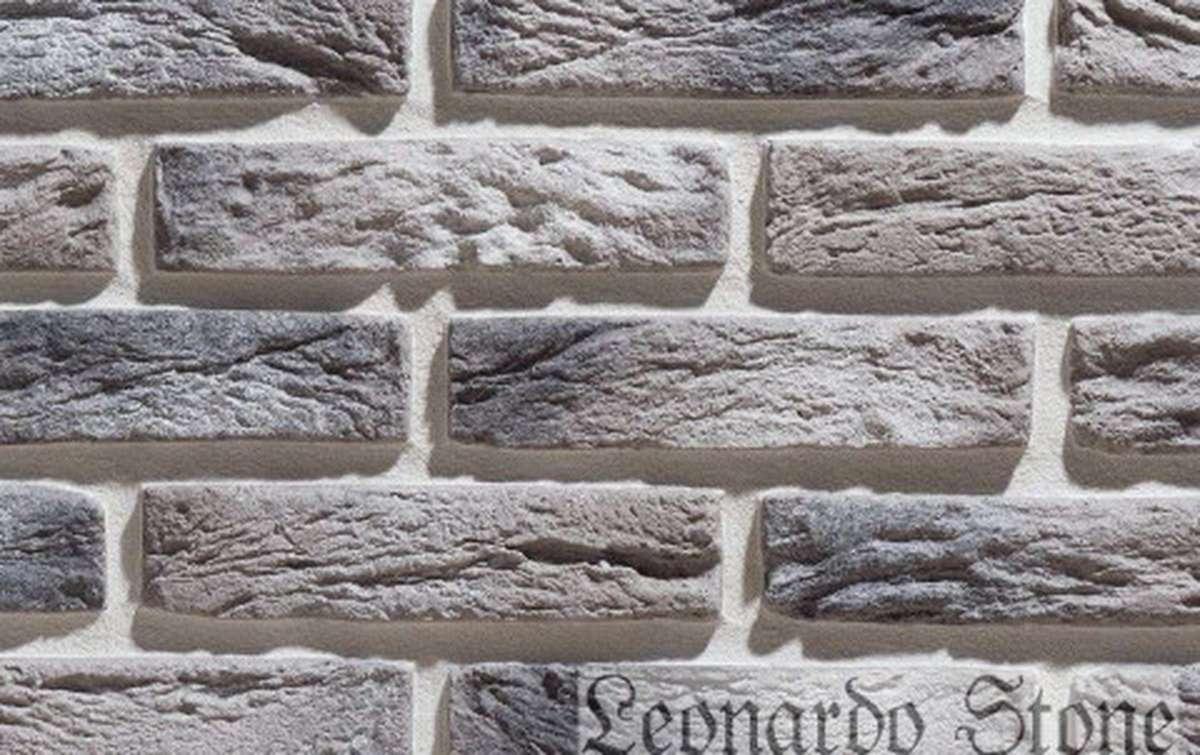 Фасадная плитка Leonardo Stone декоративный кирпич Иль-де-Франс 403