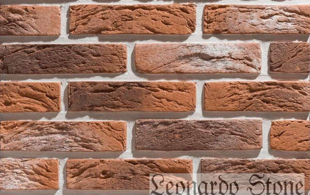 Фасадная плитка Leonardo Stone декоративный кирпич Сен-Жермен 485