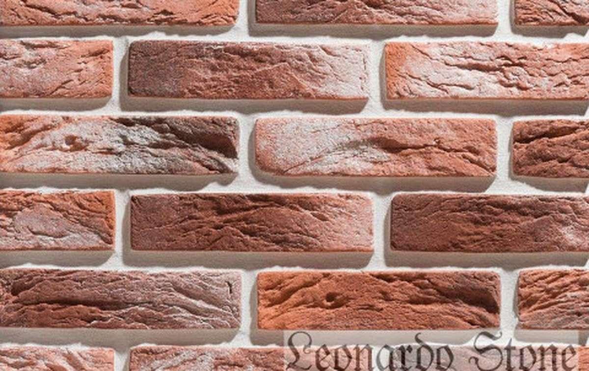 Фасадная плитка Leonardo Stone декоративный кирпич Сен-Жермен 490