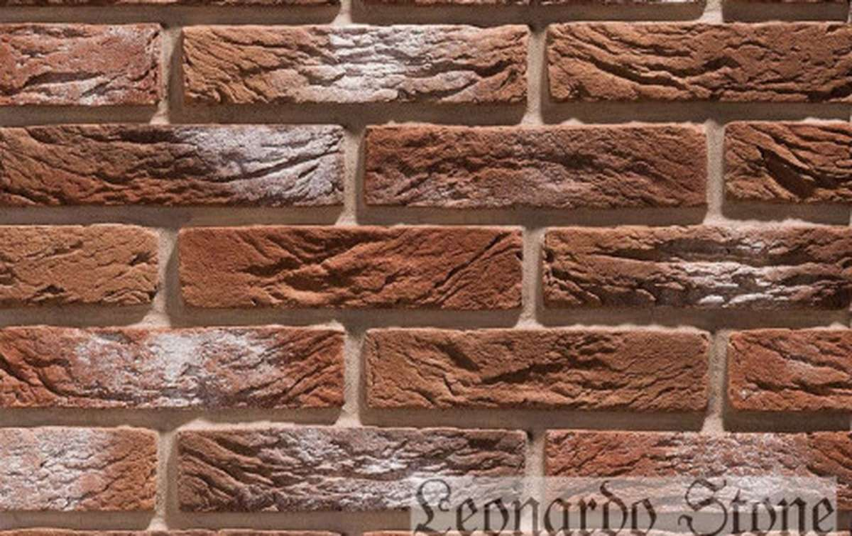 Фасадная плитка Leonardo Stone декоративный кирпич Сен-Жермен 778