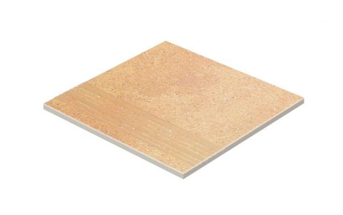 Клинкерные ступени STROEHER, E834 giallo, серия KERAPLATTE ROCCIA, размер 300x294x10