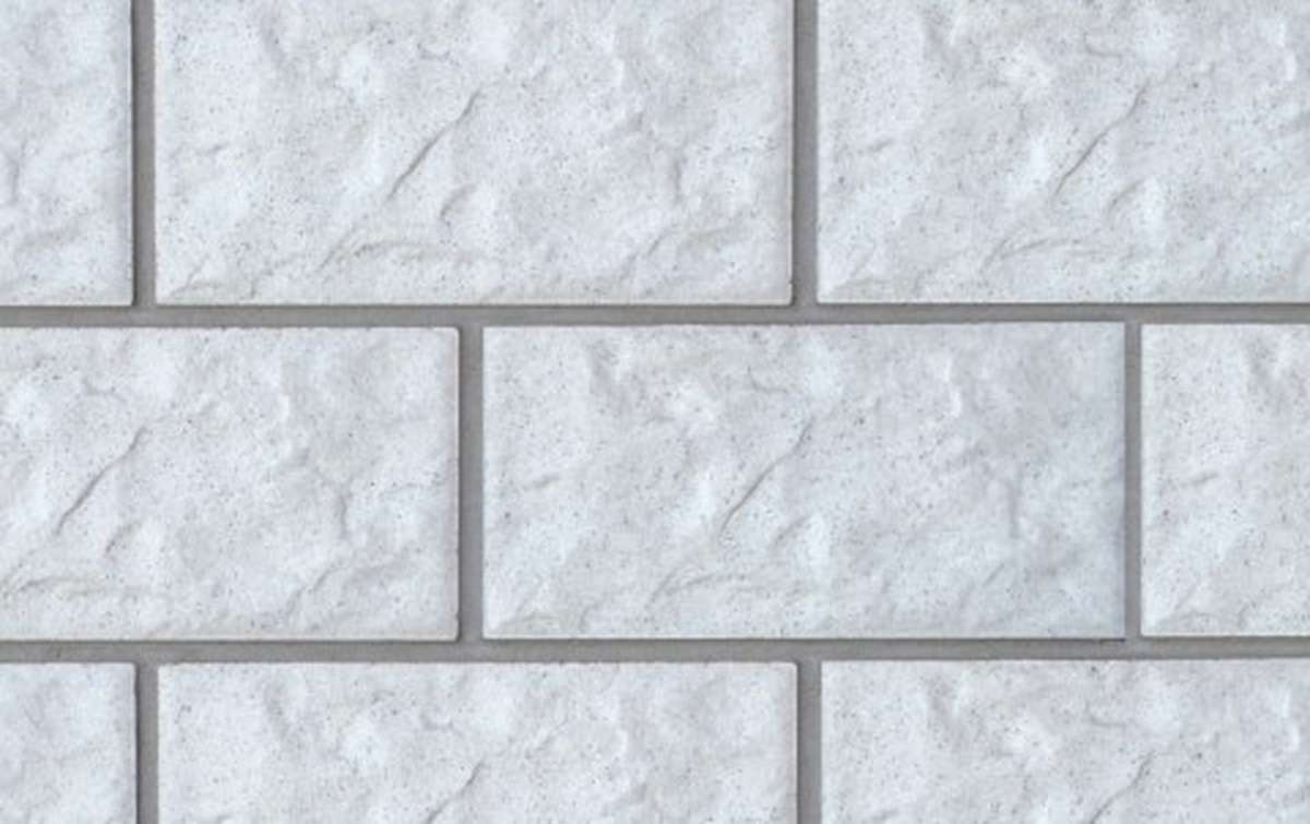фасадная клинкерная плитка STROEHER weiss, размер 302x148x12