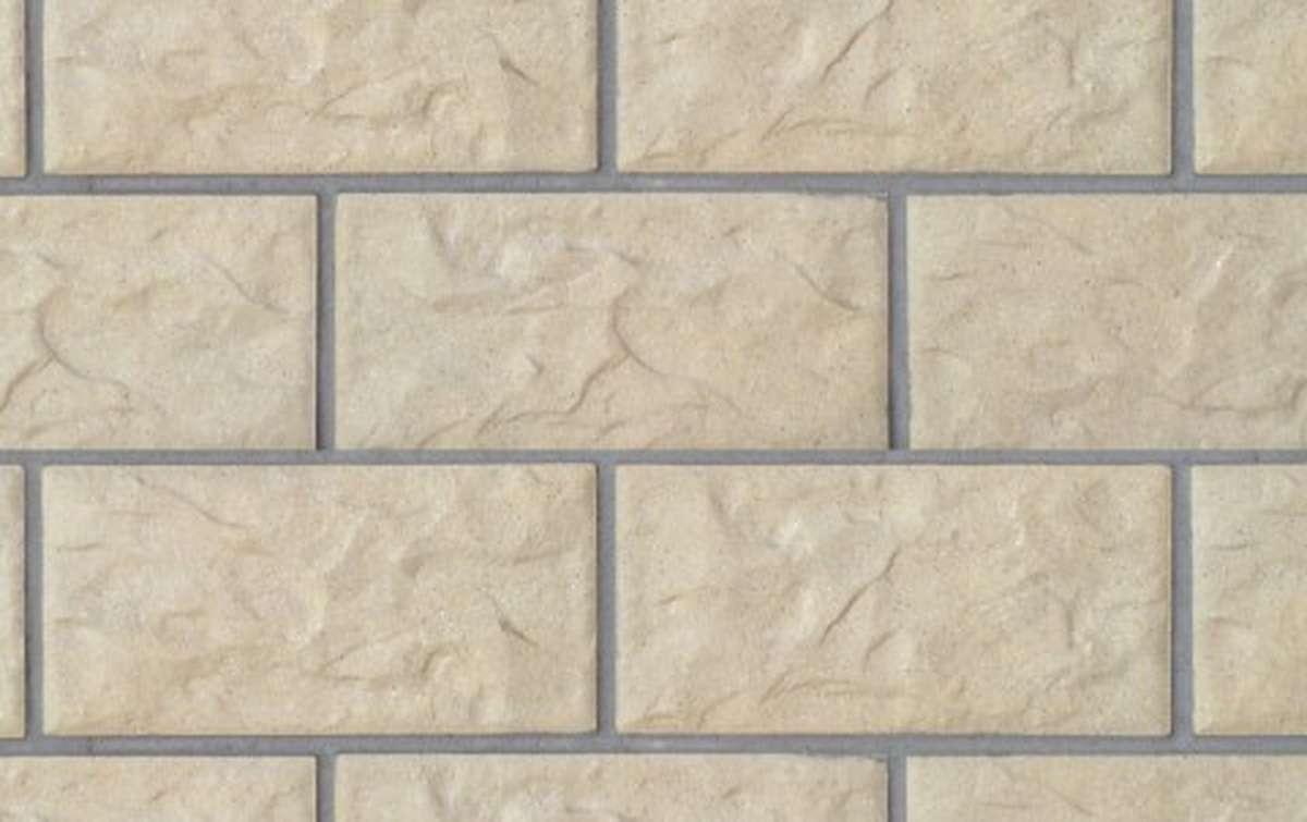 фасадная клинкерная плитка STROEHER geld, размер 302x148x12