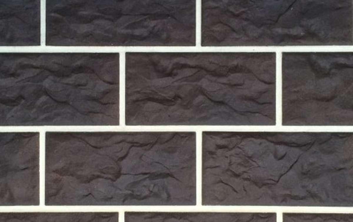 фасадная клинкерная плитка STROEHER schokobraun, размер 302x148x12