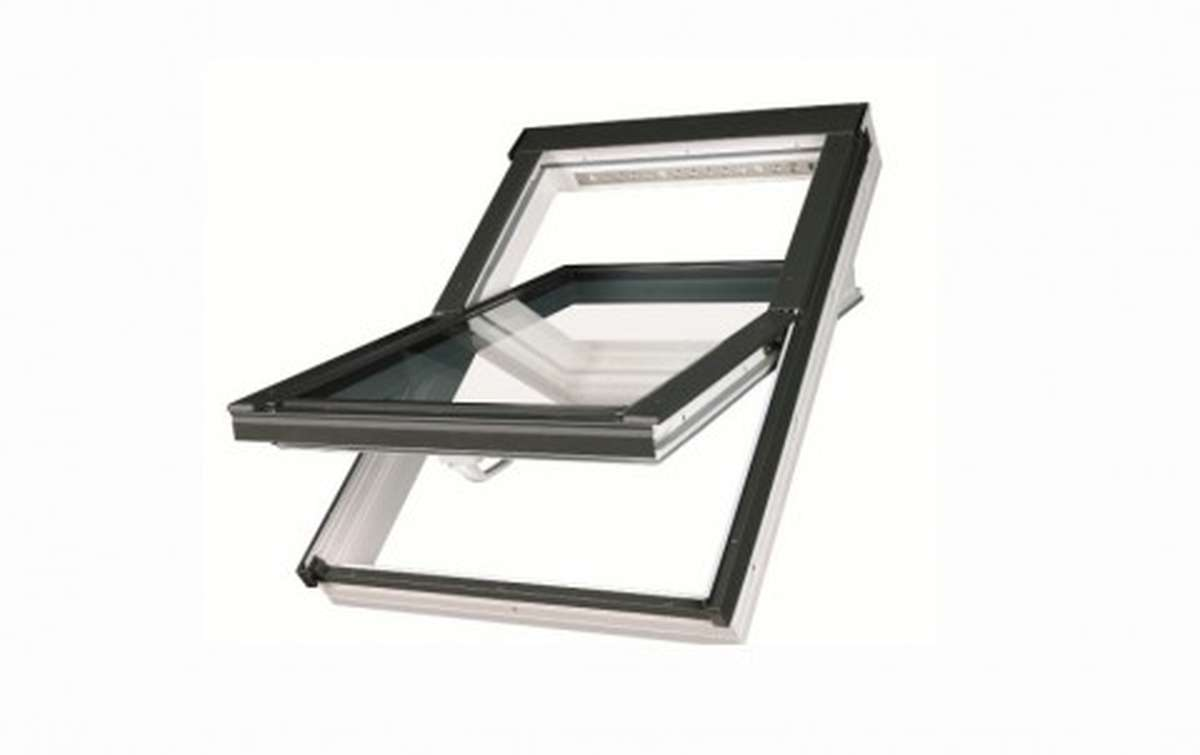 Мансардное окно FAKRO PTP U3 из ПВХ 78x140
