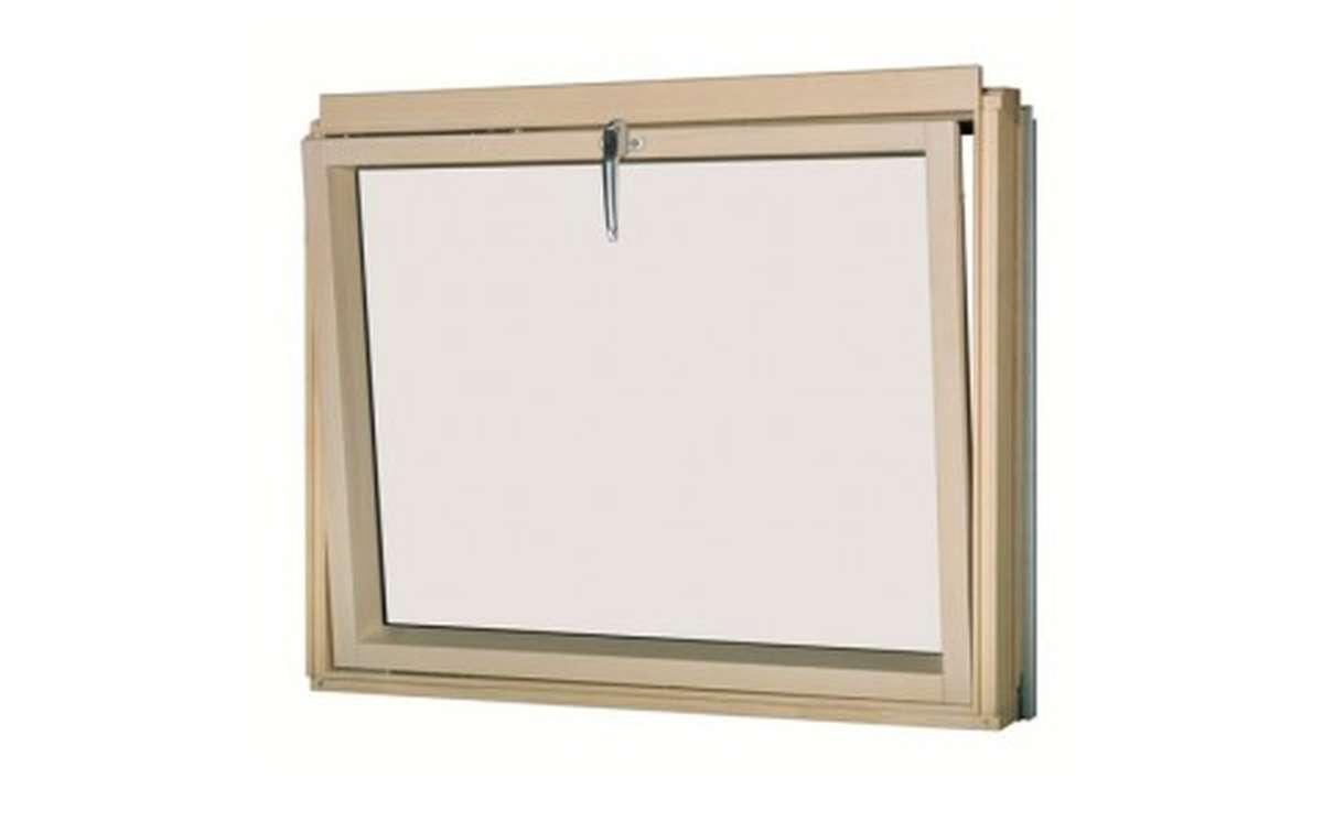 Карнизное окно с откидным открыванием FAKRO BVP L3/P2  (до 11 см) 78x75