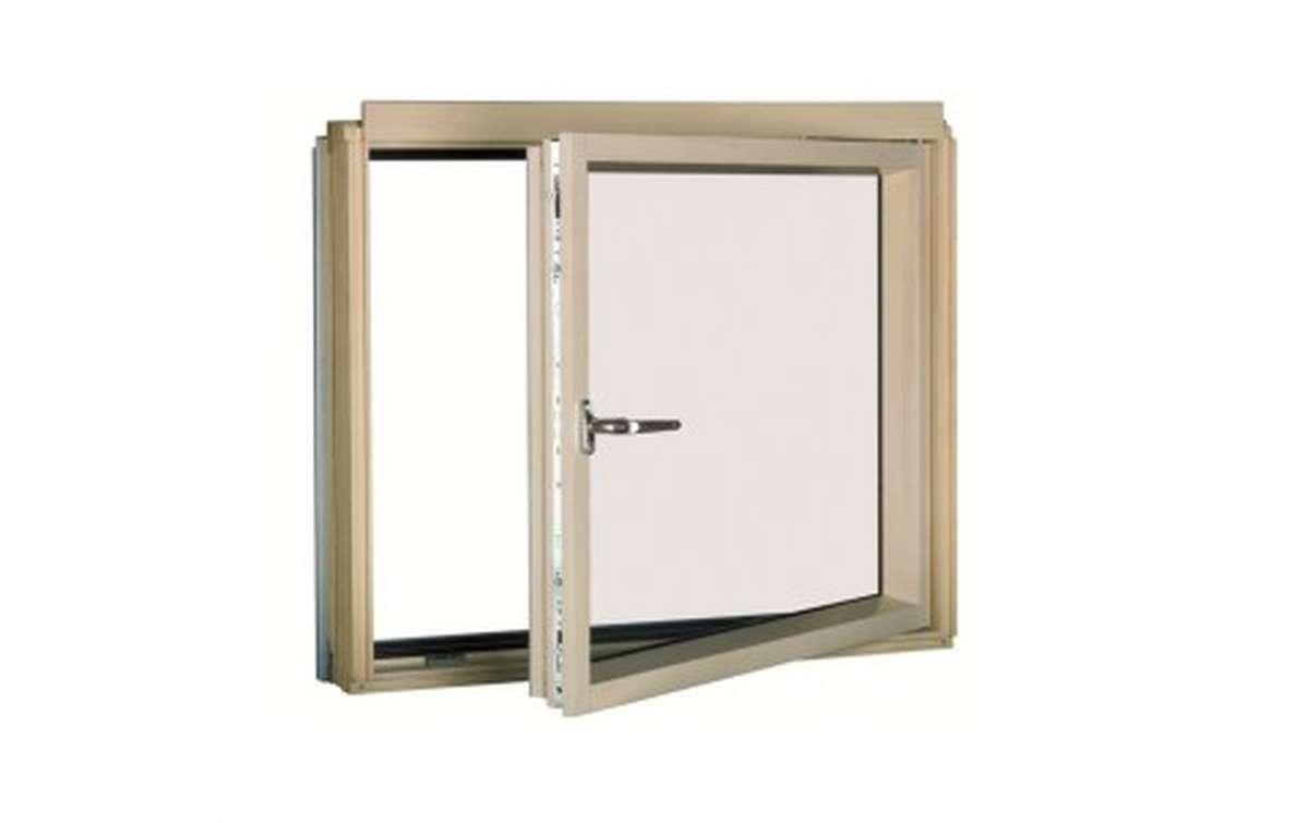 Карнизное окно с комбинированной системой открывания FAKRO BDL L3/P2 (ручка слева) 78x75