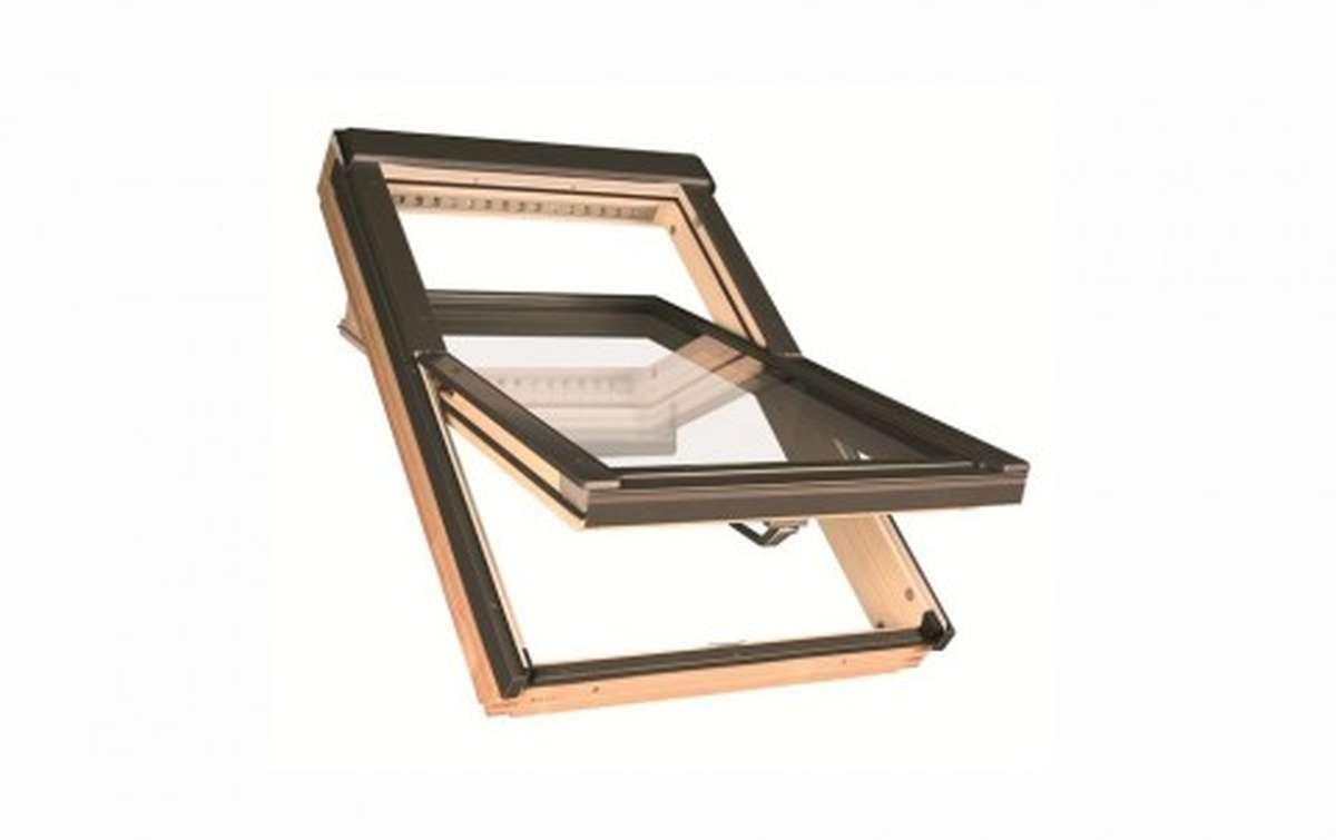 Мансардное двухкамерное окно FAKRO FTP-V U4 55x78