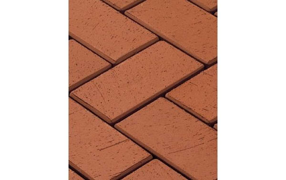 тротуарная плитка vandersanden/сrh gorlitz 200x100x45 ,цвет красный