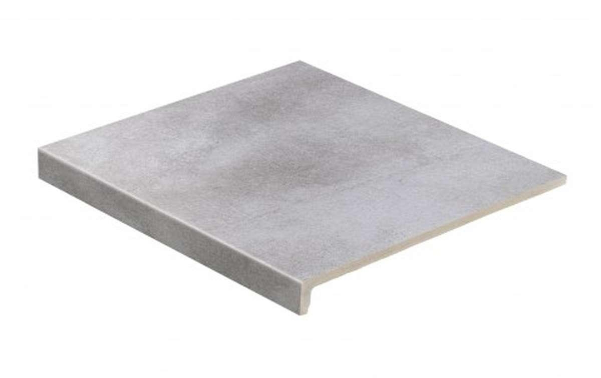 Клинкерные ступени STROEHER, E705 beton, серия AERA T, размер 294x340x35x11