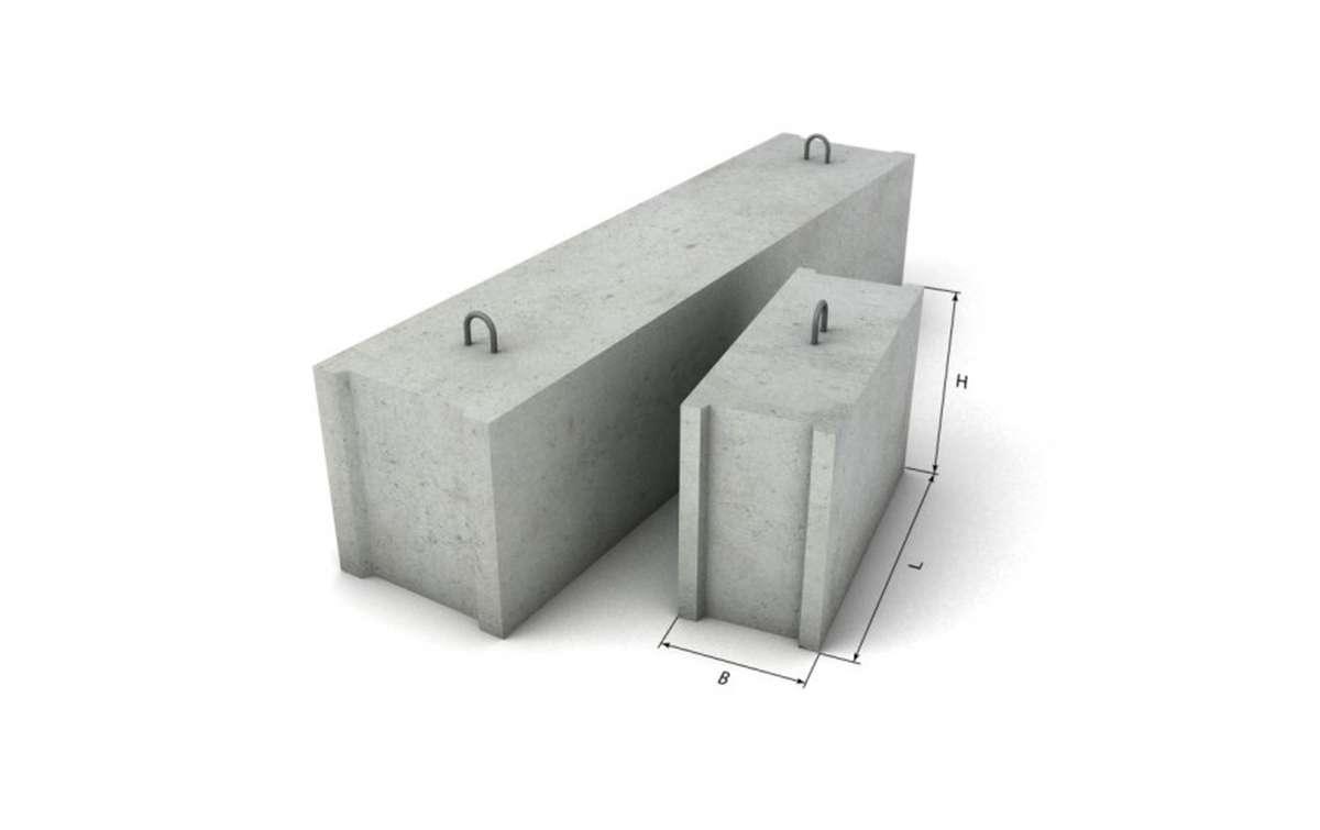 ФБС 24.4-6 т, фундаментные блоки по ГОСТ 13579-78