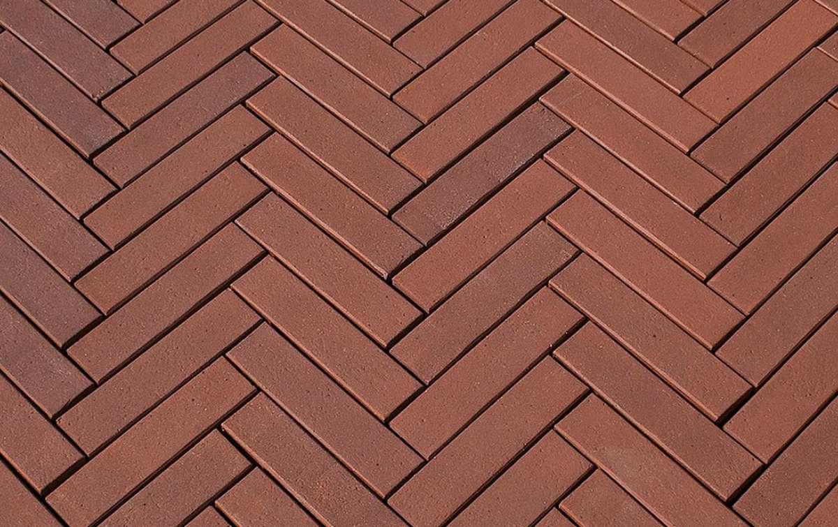 Клинкерная брусчатка HAGEMEISTER AMSTERDAM, 244x61x78