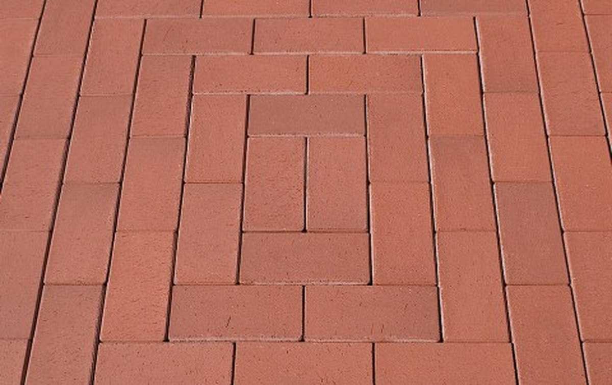Клинкерная брусчатка HAGEMEISTER WESTFALEN, 200x100x50 drain pavers