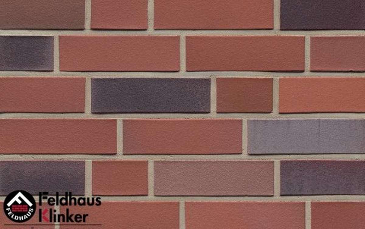 клинкерный кирпич Feldhaus Klinker lava azur liso k364nf90 240x90x71