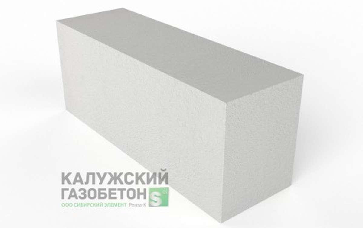 Блок стеновой теплоизоляционно-конструкционный Калужский газобетон D600 625x200x250