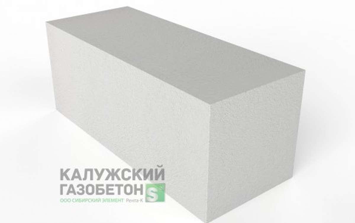Блок стеновой теплоизоляционно-конструкционный Калужский газобетон D600 625x250x250