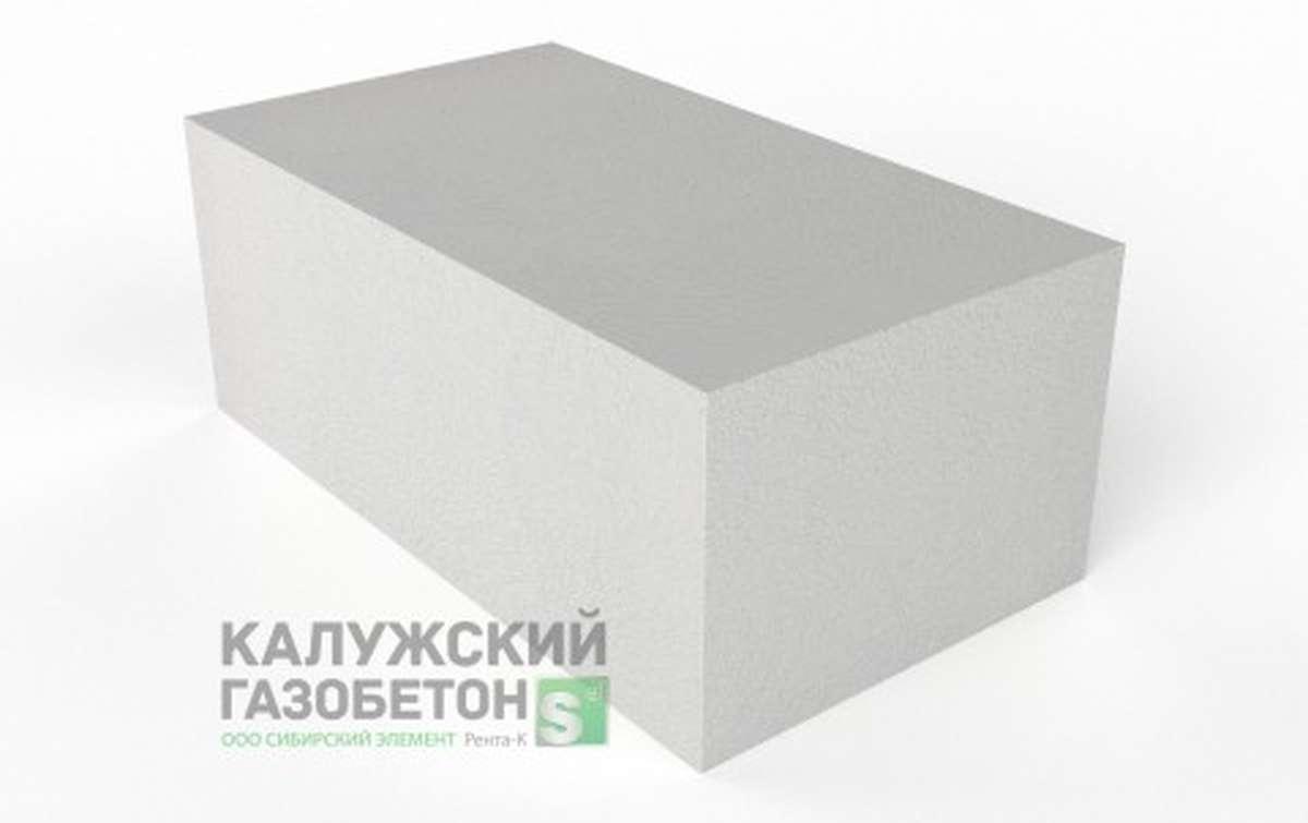 Блок стеновой теплоизоляционно-конструкционный Калужский газобетон D400 625x350x250