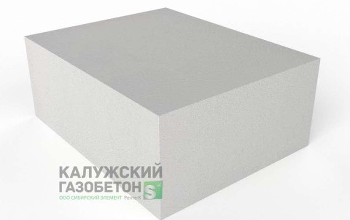 Блок стеновой теплоизоляционно-конструкционный Калужский газобетон D400 625x500x250