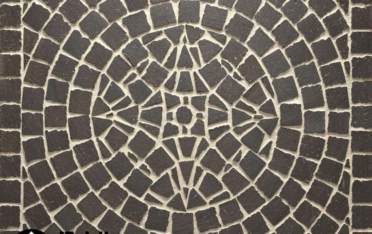 СПЕЦЦЕНА! Тротуарная клинкерная плитка Фельдхаус Клинкер M609DF umbra ferrum 240x118