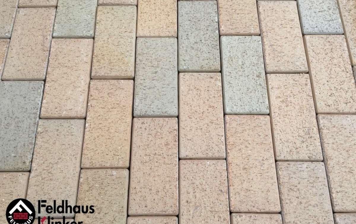 Тротуарная клинкерная плитка Фельдхаус Клинкер P203KDF areno trigo 200x100
