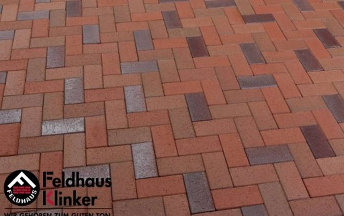 Тротуарная клинкерная плитка Фельдхаус Клинкер P405KDF gala alea 200x100