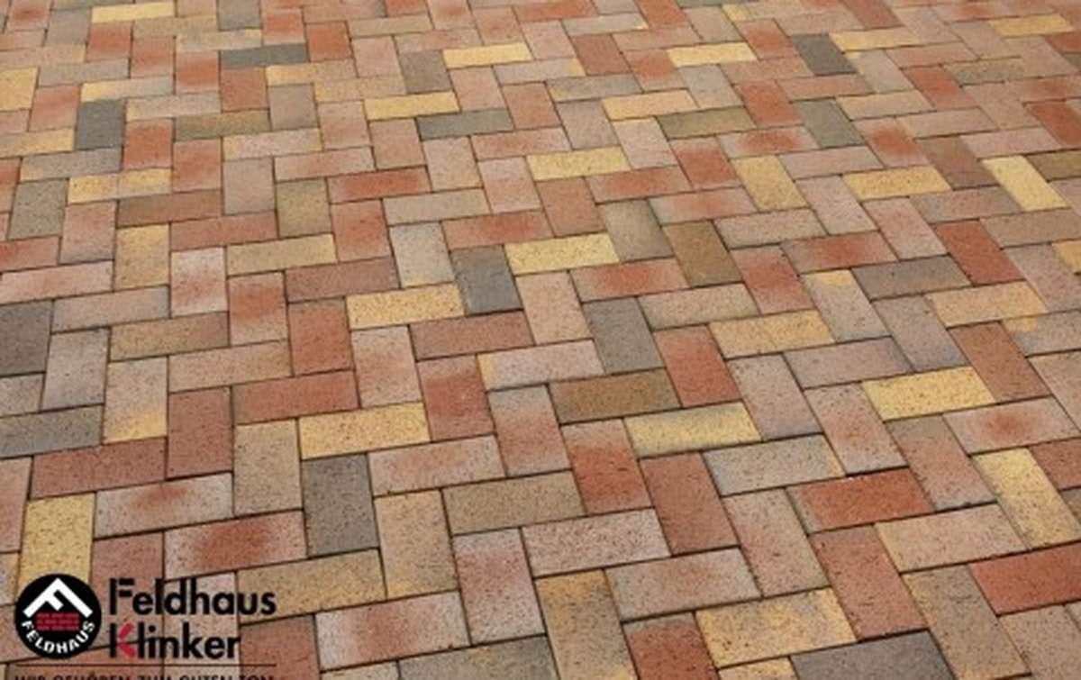 Тротуарная клинкерная плитка Фельдхаус Клинкер P415KDF 200x100