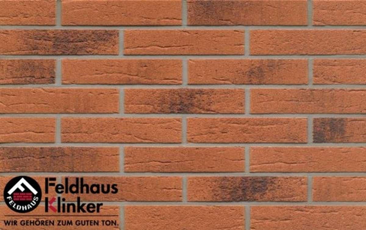 клинкерная плитка для фасада feldhaus klinker terracota rustico carbo r228df9 240x9x52