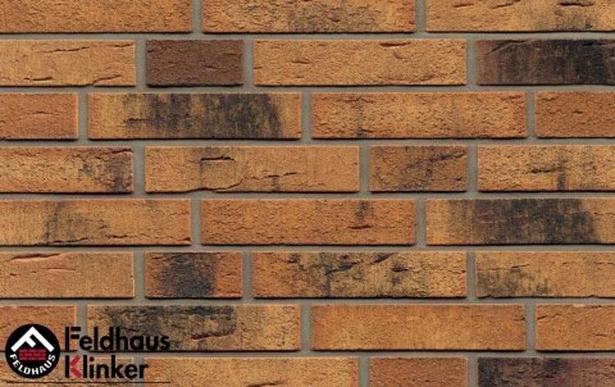 клинкерная плитка для фасада feldhaus klinker nolani viva rustico carbo r286df9 240x9x52