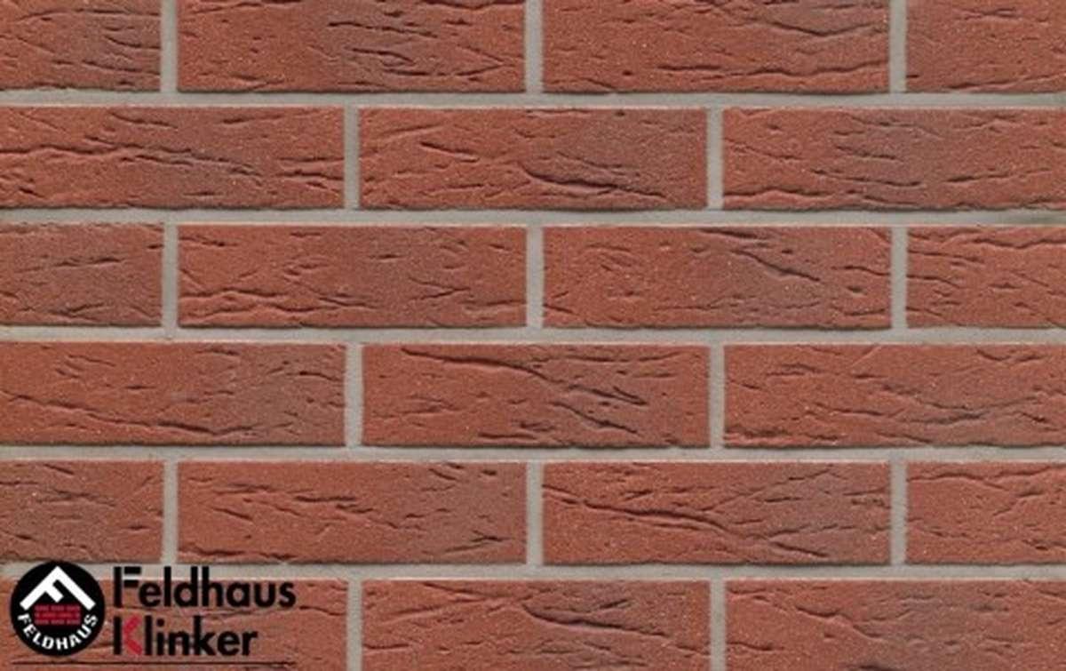 клинкерная плитка для фасада feldhaus klinker r335nf9 carmesi multi 240x9x71