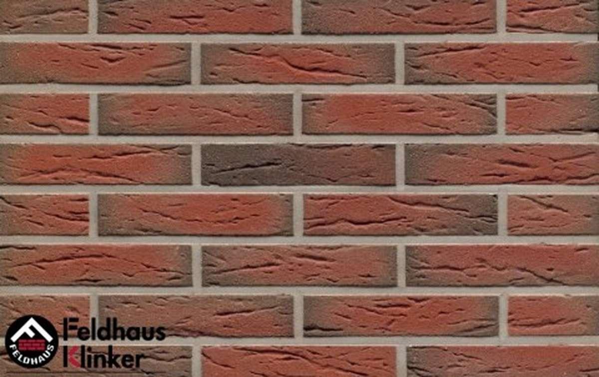 клинкерная плитка для фасада feldhaus klinker r436df9 ardor mana 240x9x52