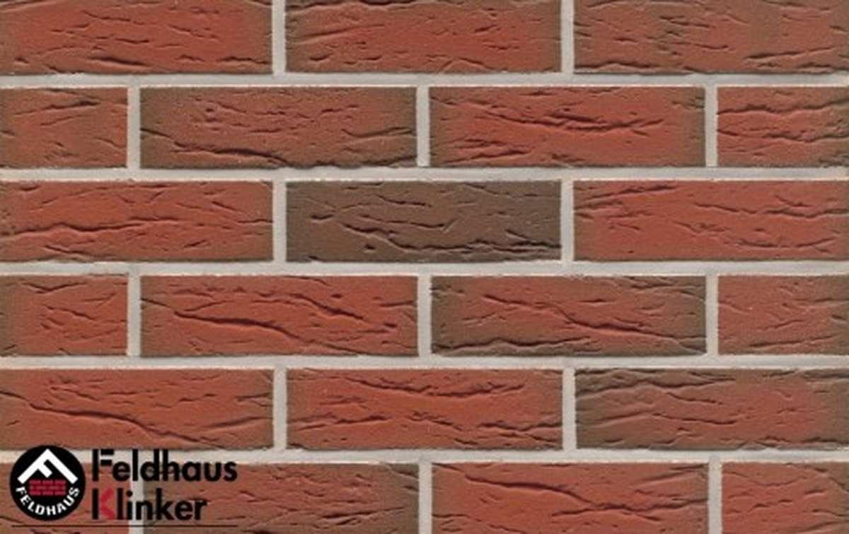 клинкерная плитка для фасада feldhaus klinker r436nf9 ardor mana 240x9x71