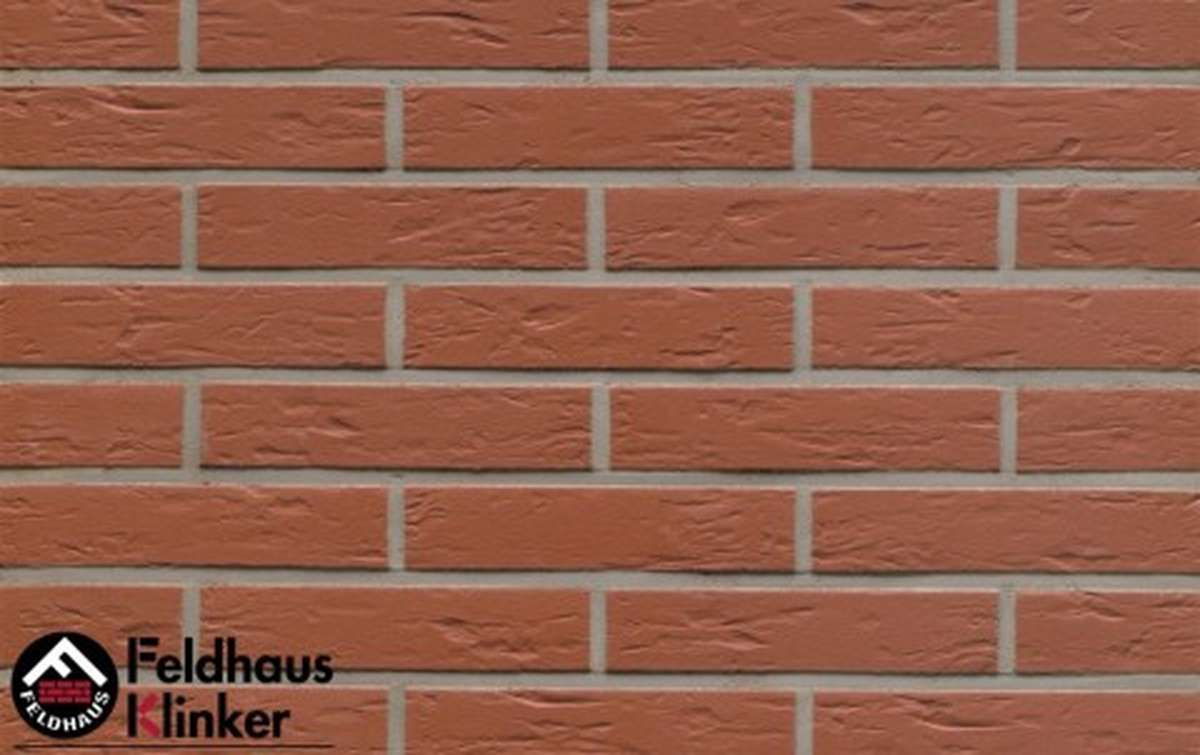 клинкерная плитка для фасада feldhaus klinker r440df9 carmesi senso 240x9x52